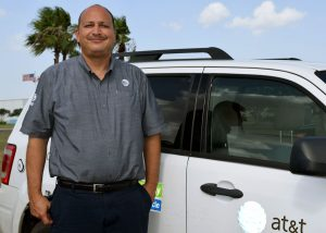 Nat Lopez AT&T Area Manager for Texas South