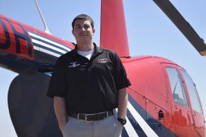 Ryan Schneider Waco helicopter flight instructor