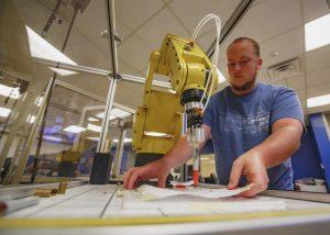 Robotics Technology student