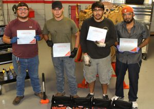 First Heavy Duty Diesel Engine Grads