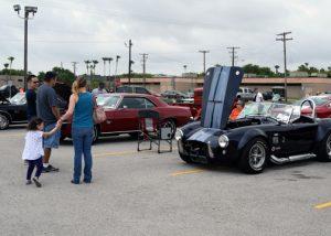 TSTC veteran student car show
