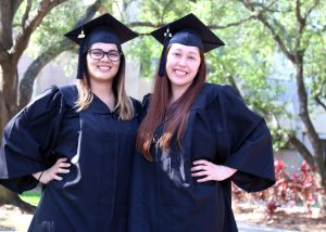 TSTC graduates Elizabeth Vargas and Sondra Baldivia
