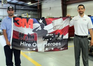 TSTC 3M Veteran Hire Our Heroes Recipient