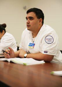 TSTC Nursing Student in Classroom