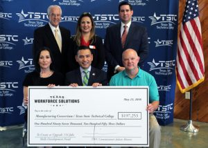 TSTC, TWC Skills Development Fund grant