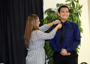 TSTC Surgical Technology pinning ceremony