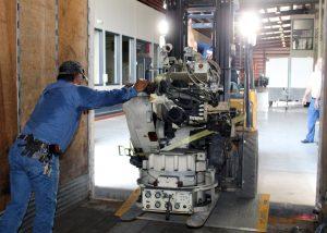 TSTC Robotic Arm Delivery
