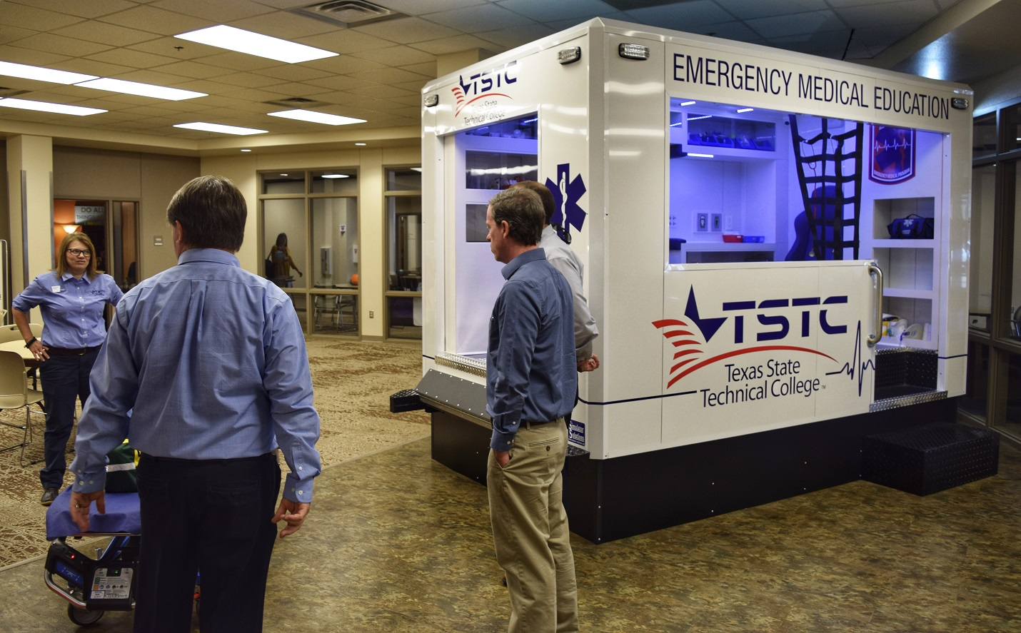 TSTC Unveils New Emergency Medical Services Simulator