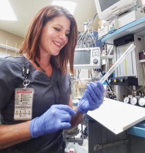 TSTC Alumna Looks to Inspire Women to Pursue Medical Repair Field