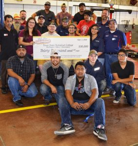 TSTC Automotive Technology Celebrates Club Formation, Donation