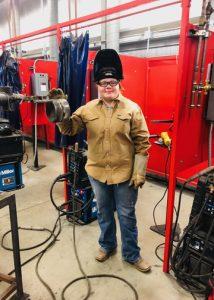 Cheyenne Kuta TSTC Welding Grad