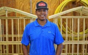 TSTC Student Finds Passion in Building Construction Technology