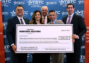 TSTC, Valley Regional Partnership awarded grant