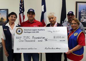 TSTC, American Legion Donation
