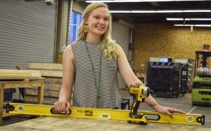 TSTC Alumna Looking to Set Example in Construction