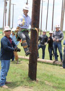 Texas Land Commissioner George P. Bush visits TSTC