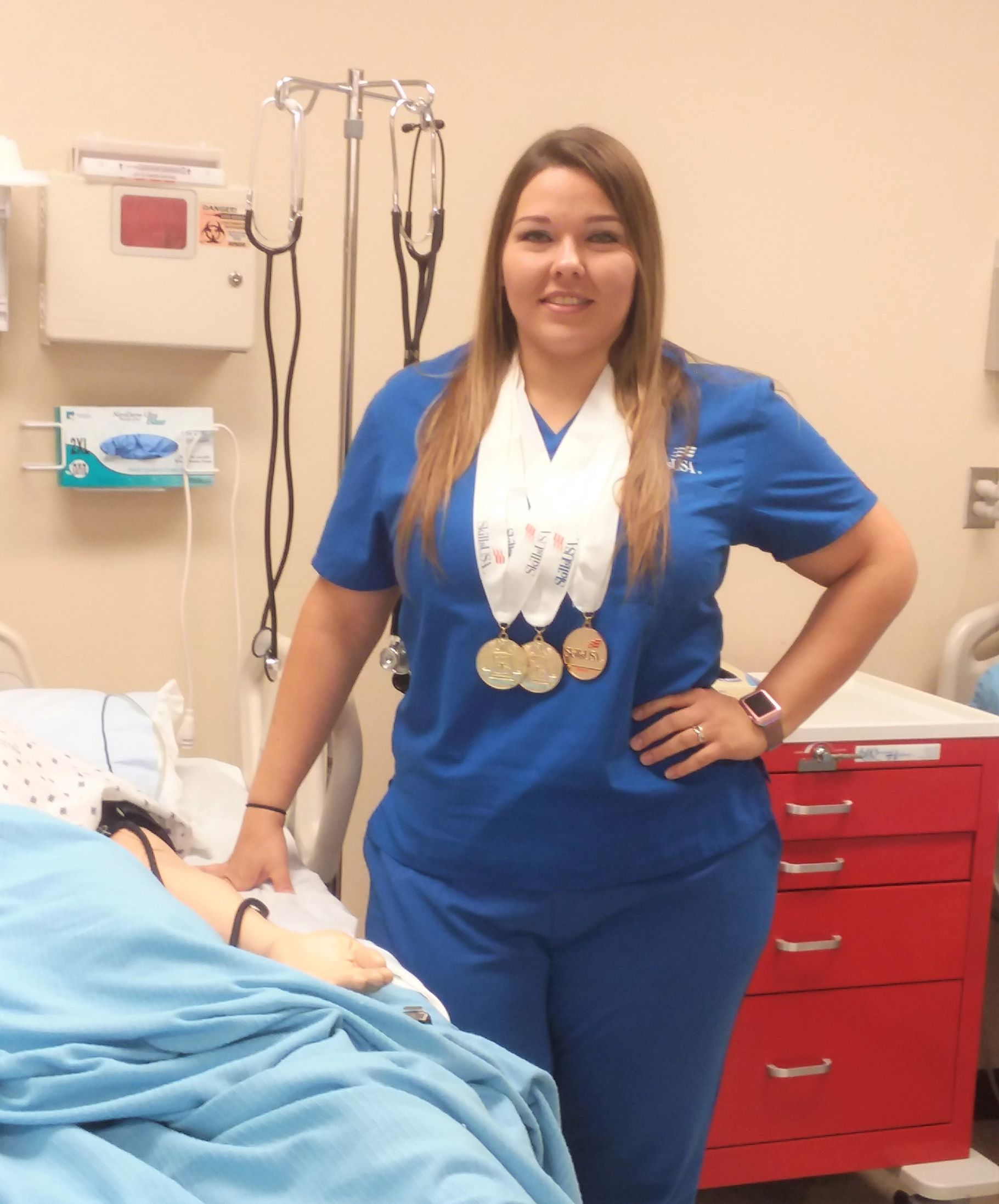 TSTC Student to Compete for Third Time at SkillsUSA Nationals