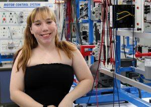 TSTC Mechatronics Technology student Madison Freeman