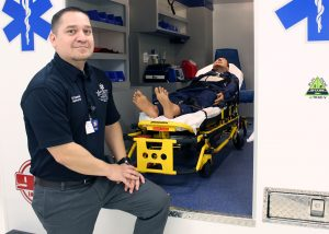 TSTC EMS Instructor Ruben Ramirez