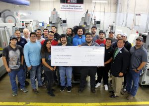 TSTC precision machining receive Gene Haas Foundation donation