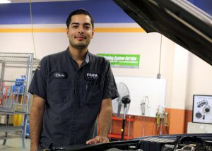TSTC Automotive Technology Christopher Machado
