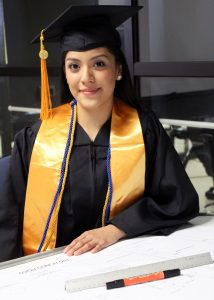 TSTC Architectural Design and Engineering Graphics grad Esthela Hernandez