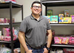 TSTC Food Pantry Ruben Rodriguez