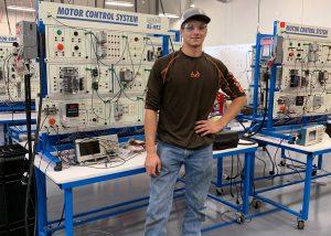 TSTC Industrial Systems graduate David Krenek