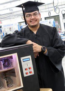 TSTC Mechatronics Technology grad Hugo Gamboa